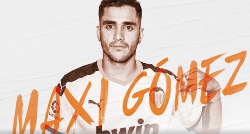 El València CF fitxa a Maxi Gómez