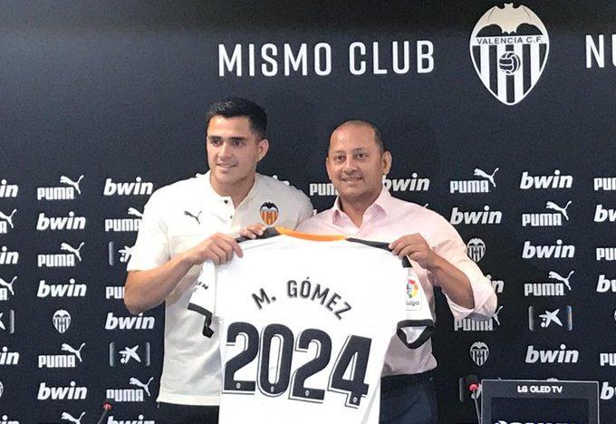 """Maxi Gómez: """"Barça i Atlètic foren opcions, pero vaig triar el València"""""""