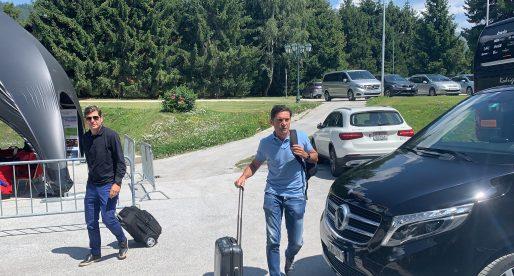 Marcelino, Anil i Mateu Alemany arriben a Crans-Montana