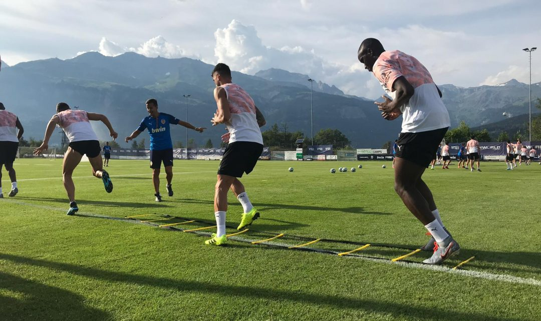 La pilota protagonitza el tercer entrenament a Suïssa