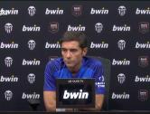 """Marcelino: """"No és fàcil adaptar-se al joc i al ritme del València"""""""
