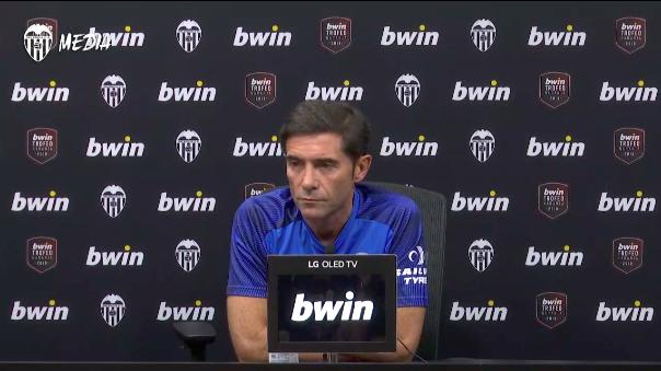 """Marcelino: """"Estaguérem molt per baix del nostre nivell"""""""