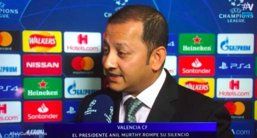 """Murthy: """"Estem convençuts que la situació de canviar l'entrenador era bona"""""""