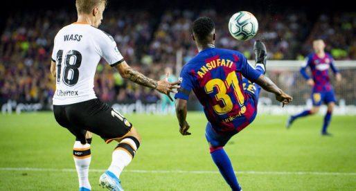 CRÒNICA: El Barça goleja al València 5-2 en el debut de Celades