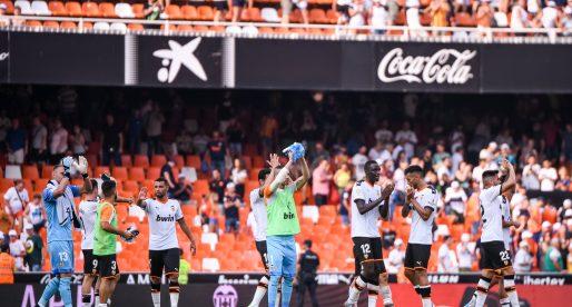 El València CF jugarà quatre de cinc partits a Mestalla