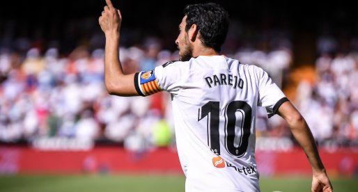 Parejo, top 10 jugadors amb més partits en el VCF