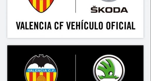 Škoda, nou vehicle oficial del València CF