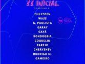 El València ix amb Rodrigo i Gameiro i el Chelsea amb defensa de cinc