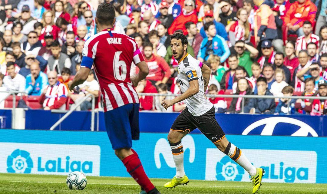 El València suma un valuós punt al Wanda Metropolitano