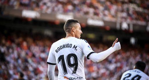 Rodrigo i Guedes, fora de la llista davant l'Atlético de Madrid