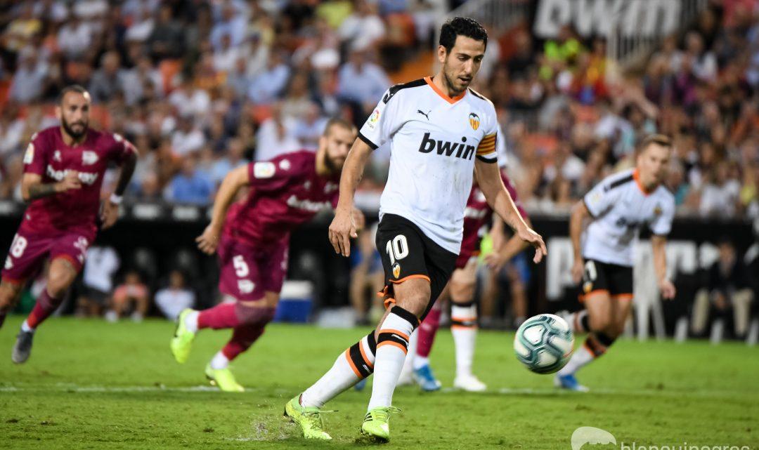 Parejo entra al podi dels golejadors de lliure directe