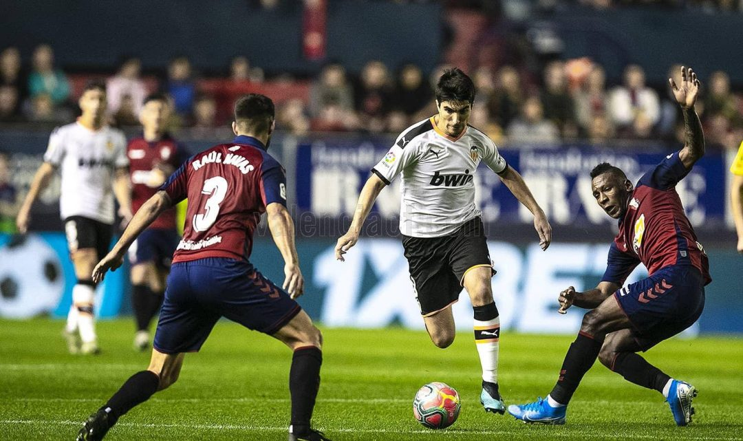 La creació del València s'encomana a Carlos Soler