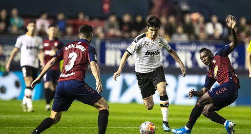 Carlos Soler vol triomfar en el València CF