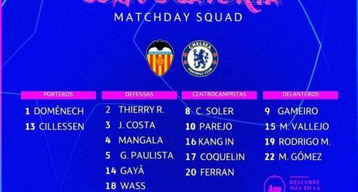 Garay, Rodrigo i Coquelin forcen per a rebre al Chelsea