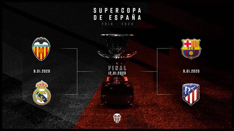 El València CF ja coneix els horaris de la Supercopa