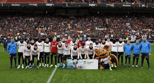 El València CF triomfa en l'entrenament a portes obertes
