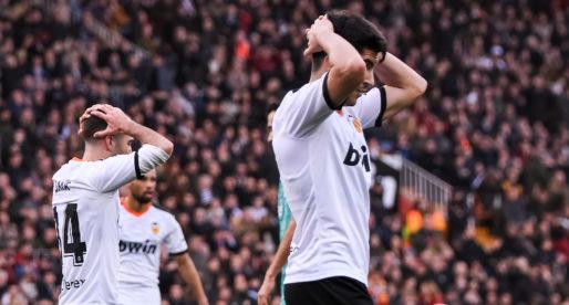 El València porta tres partits sense marcar un gol