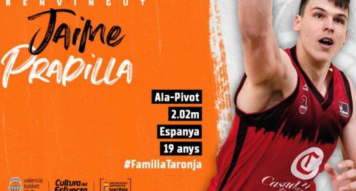 Jaime Pradilla es converteix en el cinqué i últim reforç per al València Bàsquet 2020/21