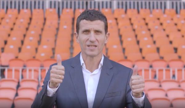 """Javi Gracia: """"La meua intenció és aconseguir una estabilitat per als jugadors"""""""
