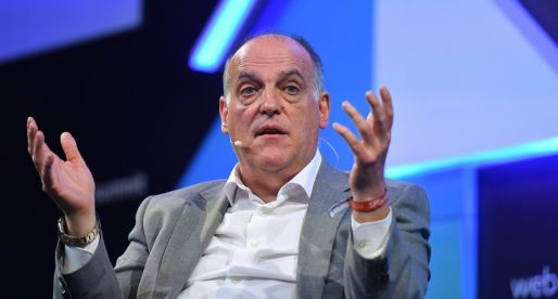"Javier Tebas: ""Tenim un informe que confirma que no hi ha insult a Diakhaby"""