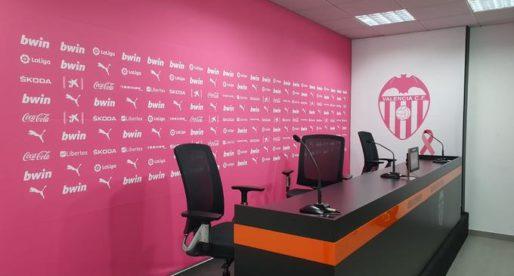 El València s'unix a la lluita davant el 'càncer de mama'