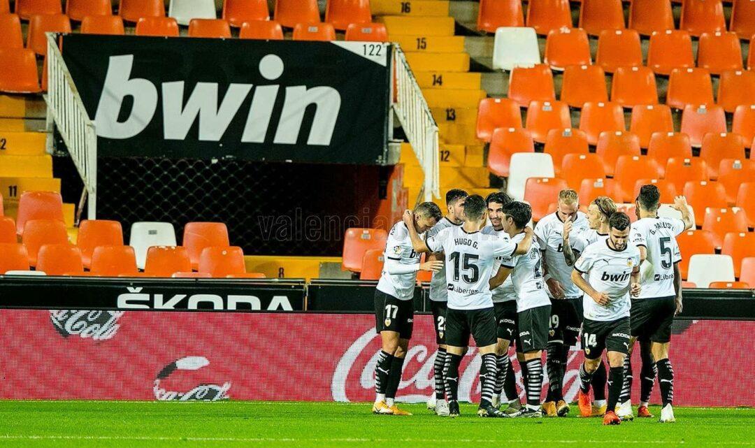 El possible onze del València per al partit davant l'Alavés