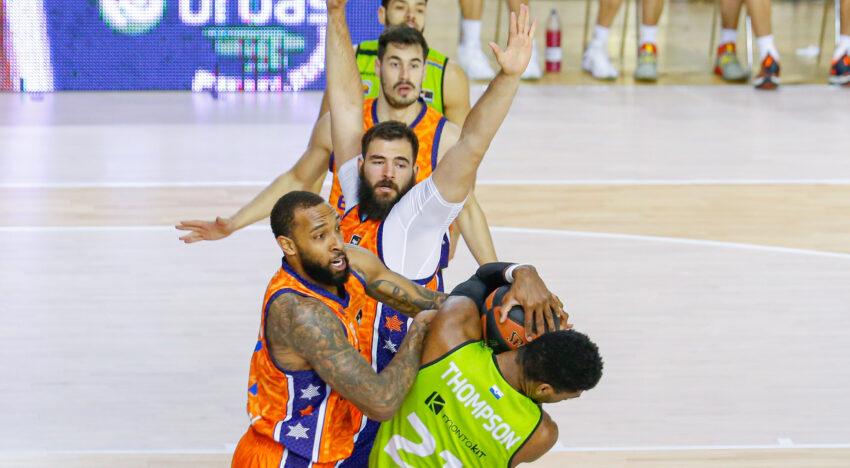 Un gran tercer quart li dona la victòria a València Bàsquet a Fuenlabrada (61-68)