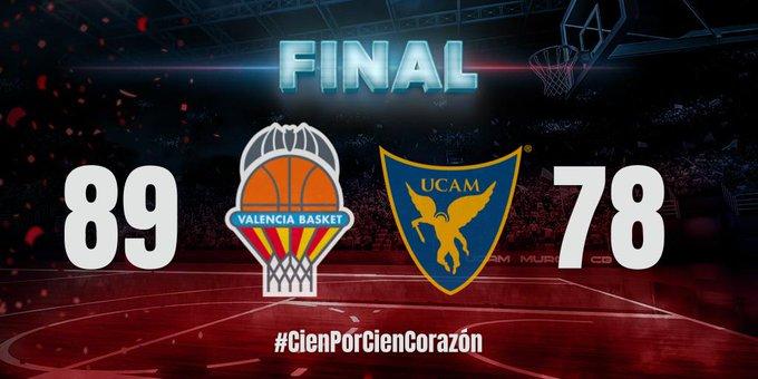Quarta victòria consecutiva de València Bàsquet davant un rival directe (89-77)