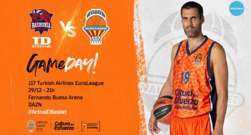 València Bàsquet tanca la primera volta a Vitòria