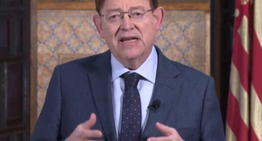Ximo Puig anuncia noves mesures per a frenar la pandèmia