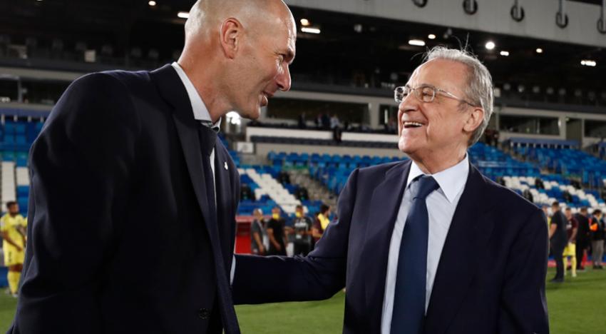"""Florentino Pérez: """"No pot ser que els equips grans perden diners i els de baix guanyen"""""""