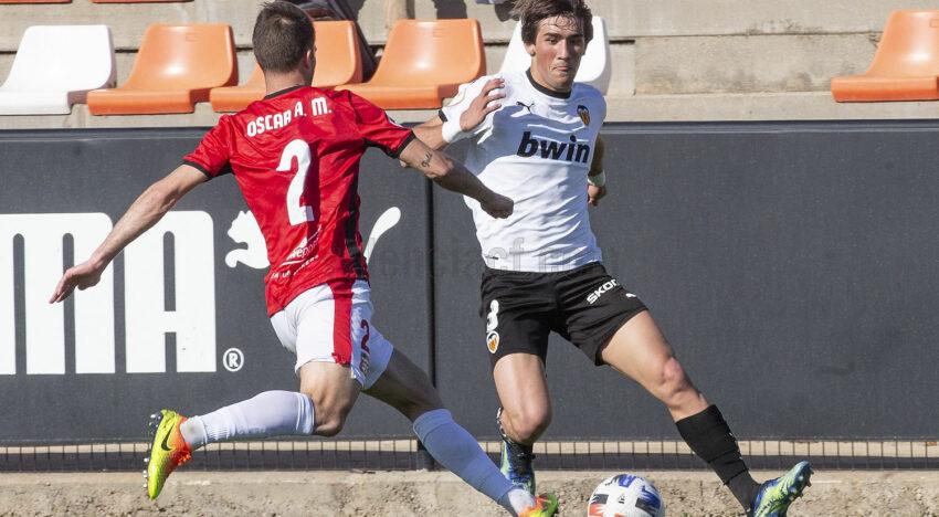 CRÒNICA: El VCF Mestalla acomiada la primera fase amb derrota