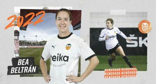 OFICIAL: Bea Beltrán renova fins a 2022