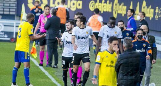 El València vol que Diakhaby parle en roda de premsa sobre l'incident amb Juan Cala