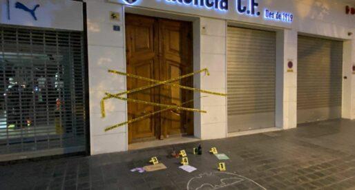 L'última protesta a les oficines del València CF