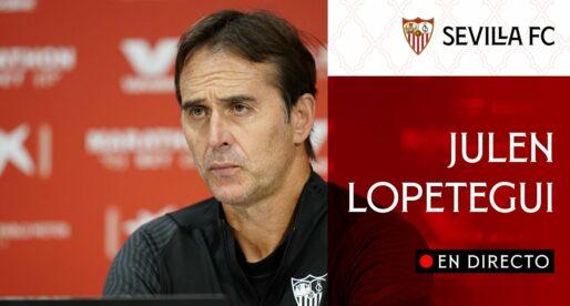 """Julen Lopetegui: """"El València és l'equip més ràpid de la lliga"""""""