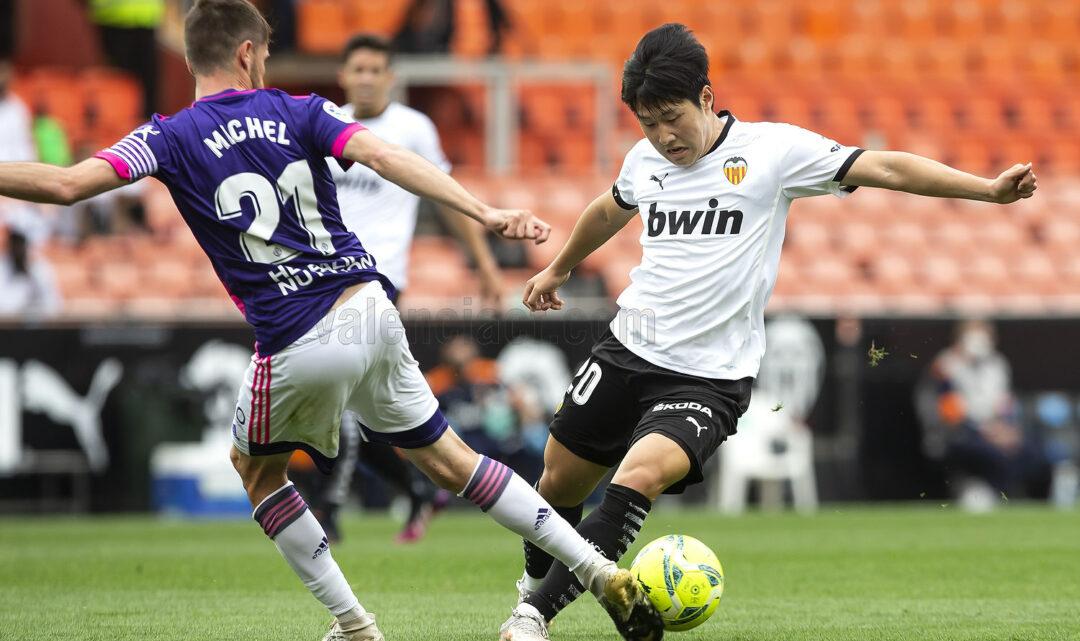 Kang In Lee té una oferta per a abandonar el València