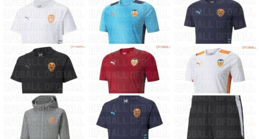 Es filtren les camisetes del València CF per a la temporada 2021-2022
