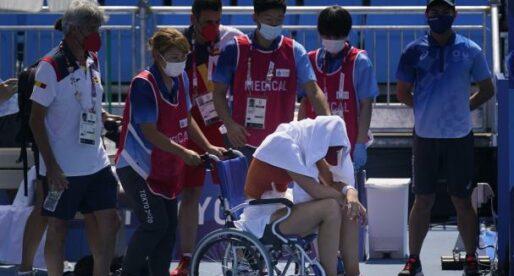 Paula Badosa abandona en quarts de final per un colp de calor