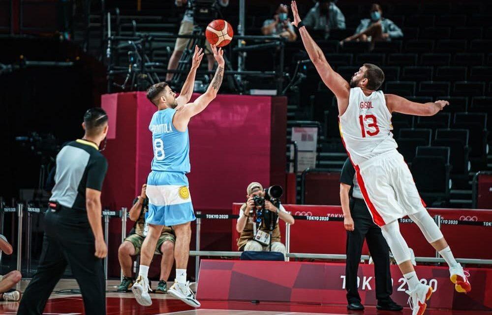 La selecció espanyola venç a Argentina i ja està en quarts de final (81-71)