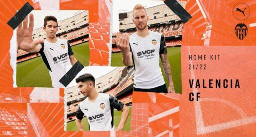 Presentació oficial de les noves camisetes del València CF