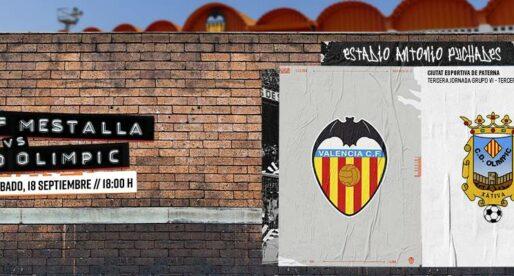 Coneix com reservar la teua entrada per a anar a vore al Mestalla gratis