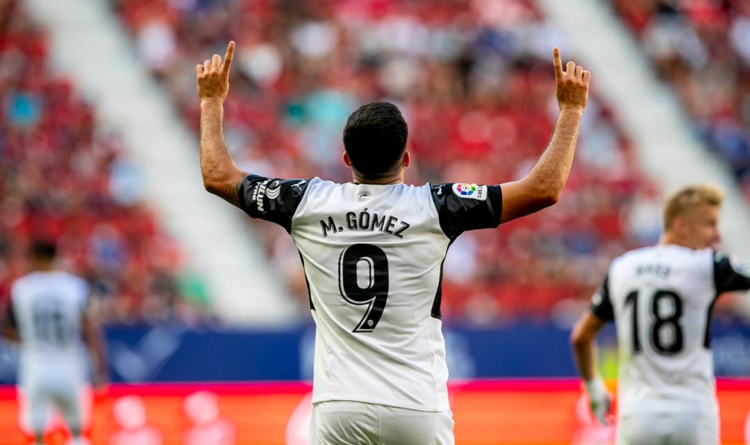 """Maxi Gómez: """"Estem molt contents de poder tindre a Bordalás d'entrenador"""""""