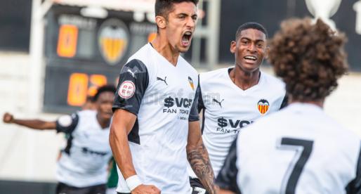 Primera victòria del Mestalla amb patiment (3-1)