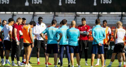 Gayà, Soler, Correia i Cheryshev entrenen amb el grup