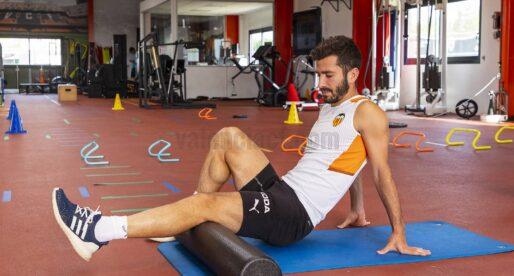 Gayà, Soler i Correia treballen al gimnàs amb els titulars
