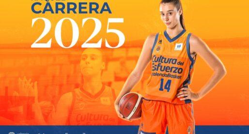 Valencia Basket amplía el contracte de Raquel Carrera